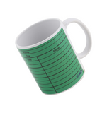 Library card (green) Mug