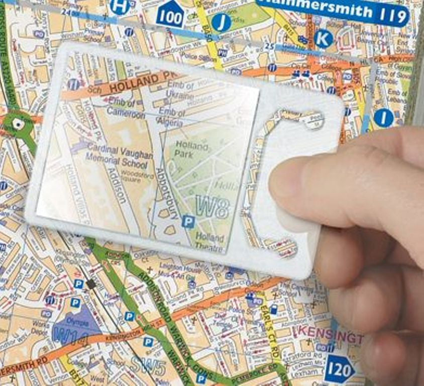 Magnifying Lens (Credit card type)