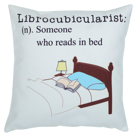 Librocubicularist Cushion Cover