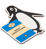 Great Expectations Penguin Fridge Magnet