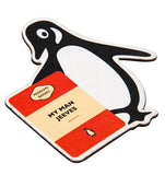 My Man Jeeves Penguin Fridge Magnet