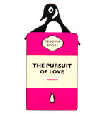 The Pursuit of Love penguin fridge Magnet