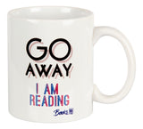 Go away, I am reading Mug