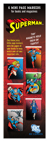 Superman Bookmarks (pack of 6)