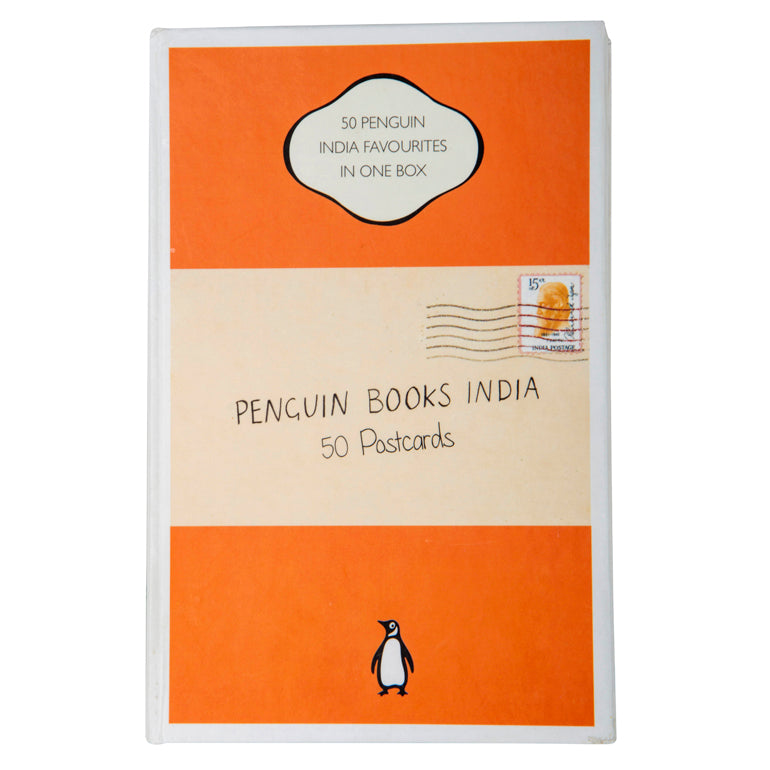Penguin Book Cover Postcards ~ Penguin books india postcards book covers in one box