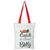 Catch the Reading Bug Tote Bag