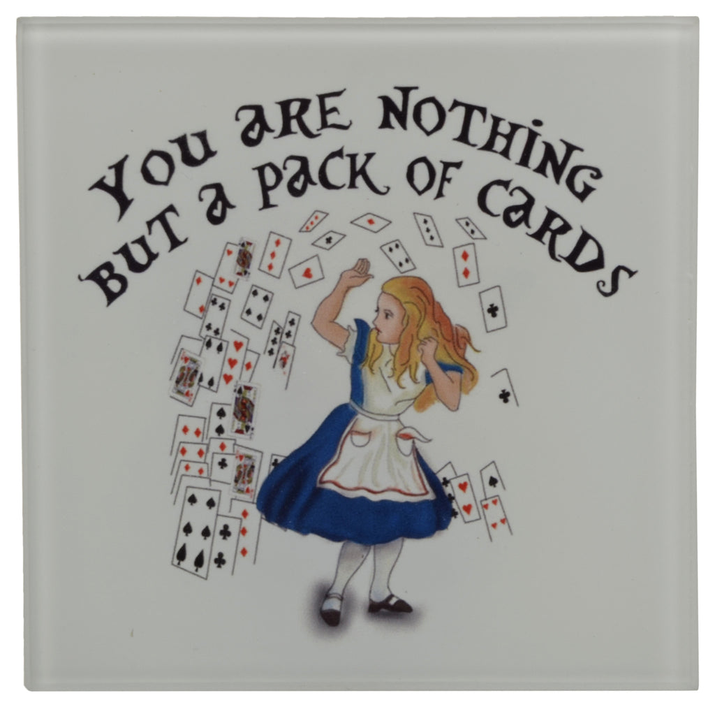 Alice Coasters Set (Set of 4)