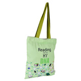 Reading is in my DNA Tote Bag