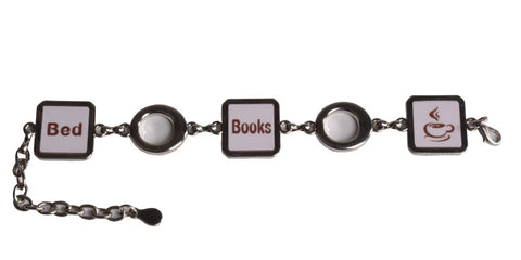 bracelet Bed Books Coffee