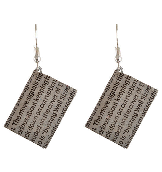 Paper earrings (pack of 2)