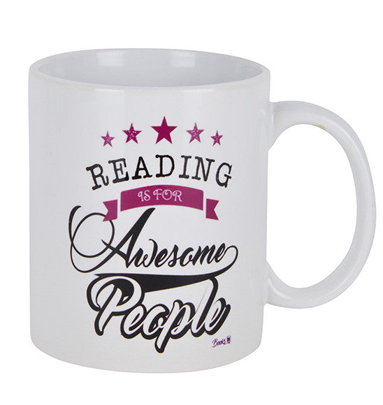 Reading is for awesome people Mug