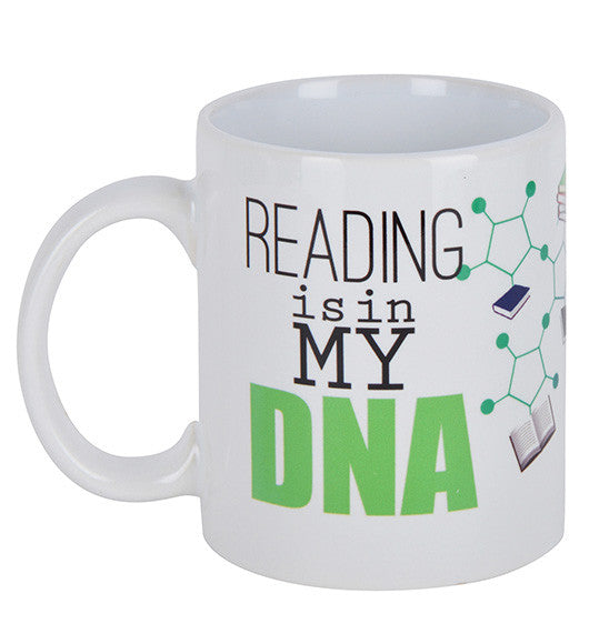 Reading is in my DNA Mug