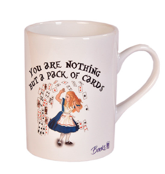 Alice pack of cards Mug