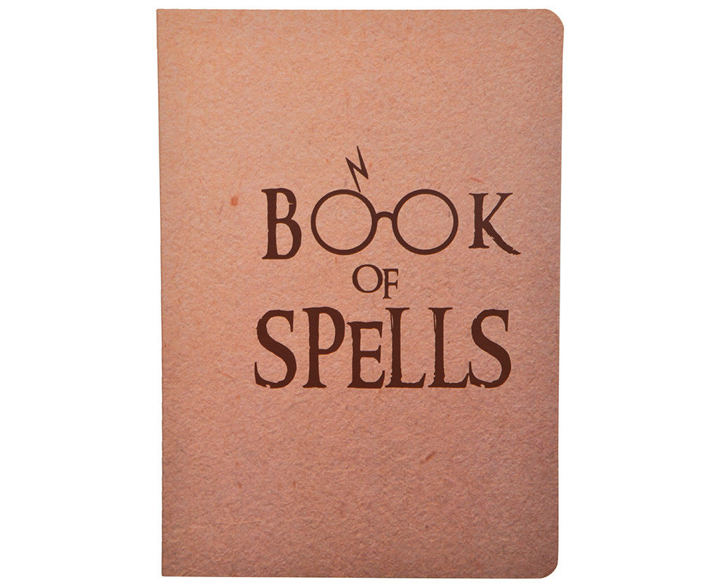 Book of Spells Notebook A5 size