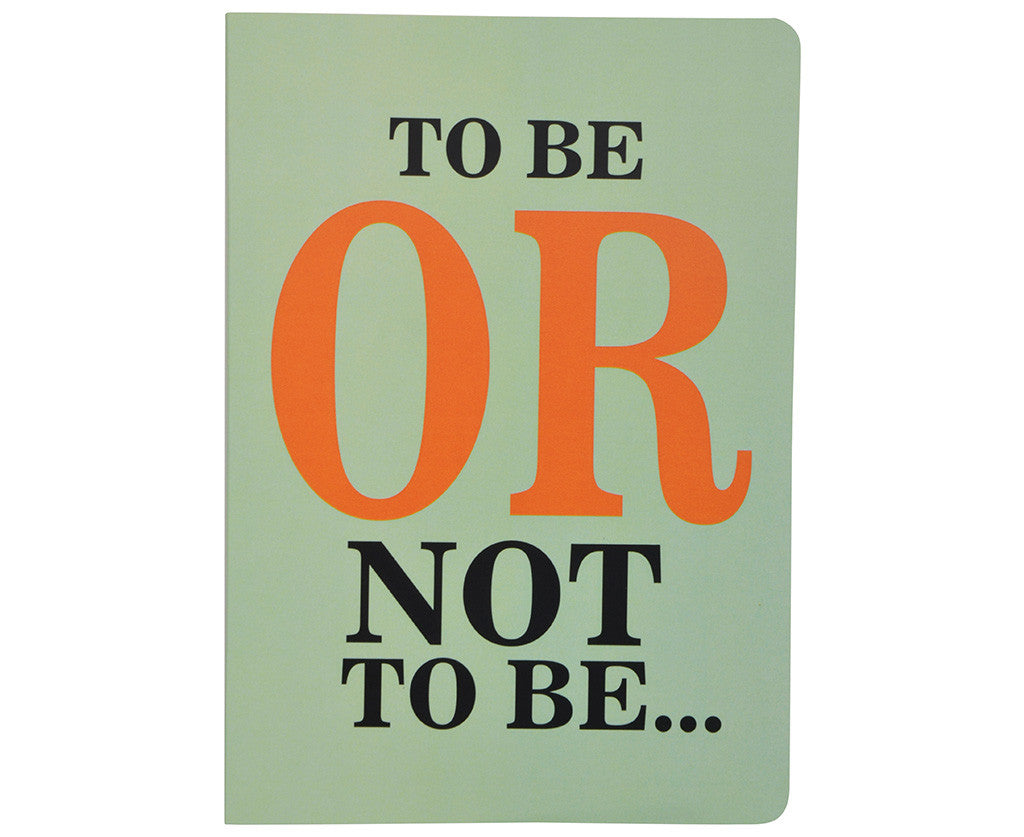Shakespeare To be or not to be Notebook A5 size