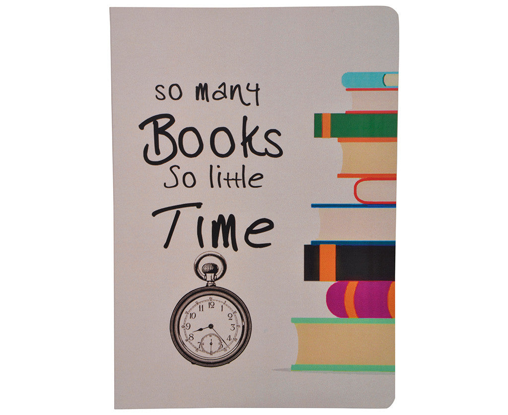 So many books,so little time Notebook A5 size