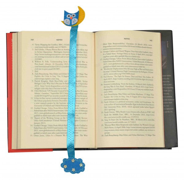Night Owl Bookmark
