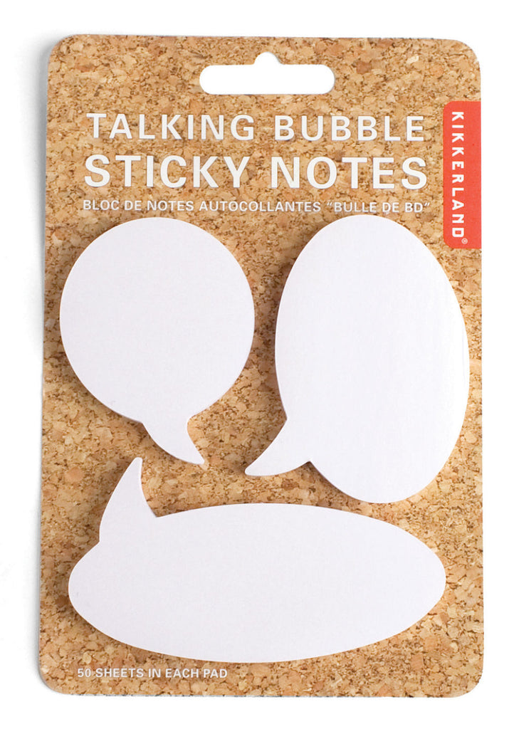 Sticky Notes Talking Bubble