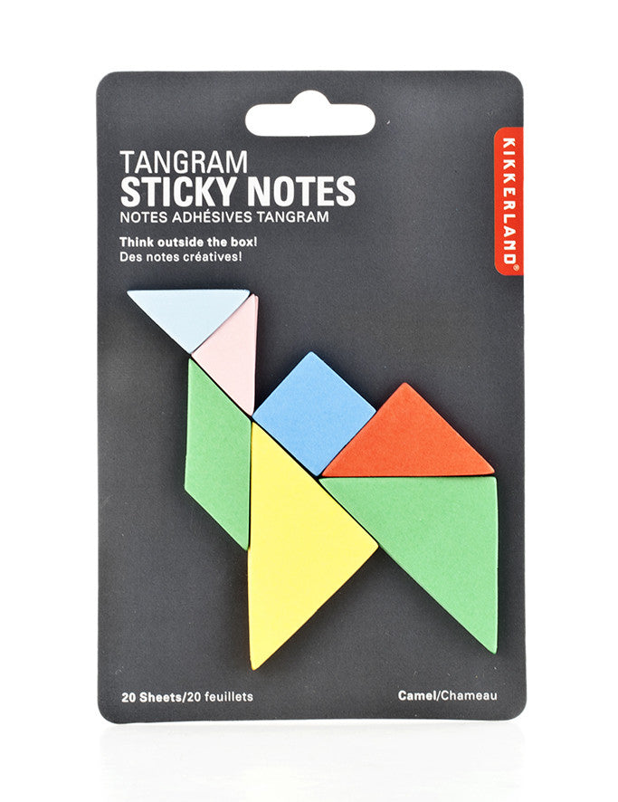 Sticky Notes Tangram