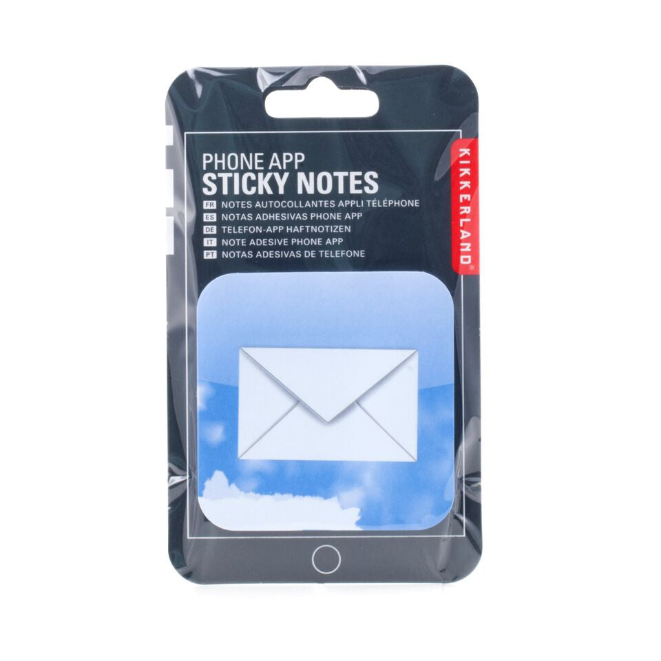 Phone App Sticky Notes Mail