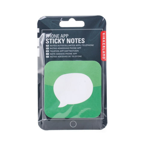 Phone App Stick Notes Messages