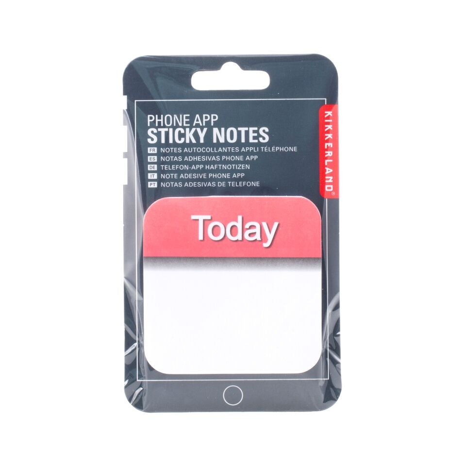 Phone App Sticky Notes Calender
