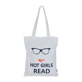 Hot Girls Read Tote Bag