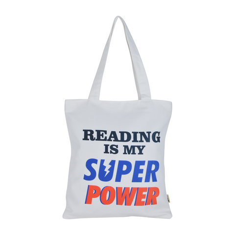 Reading is my Super Power Tote Bag