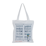 Lost in Stacks Tote Bag