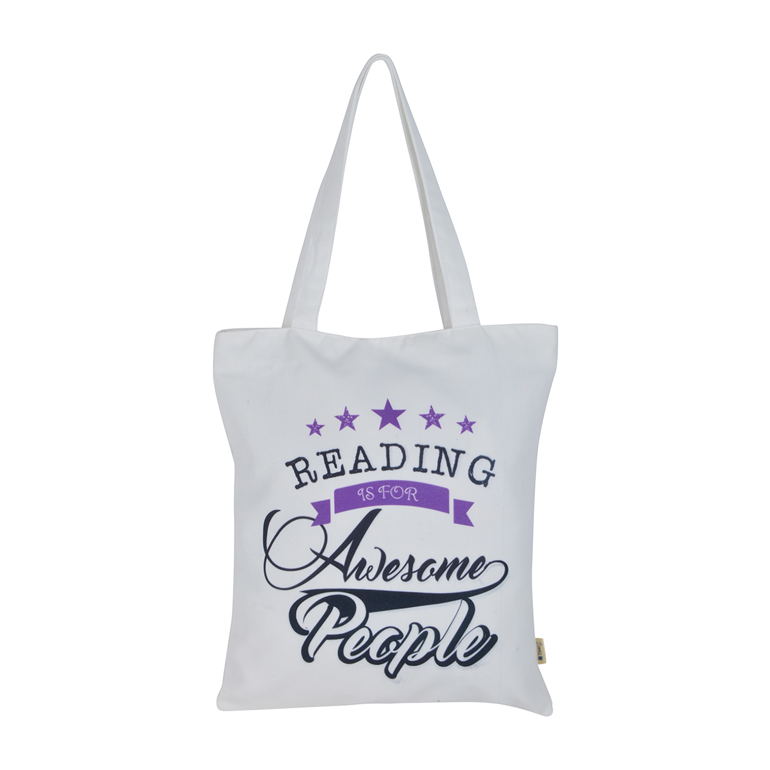 Reading is for Awesome People Tote Bag