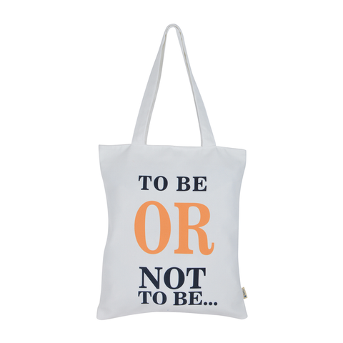 Shakespeare To Be Or Not To Be Tote Bag