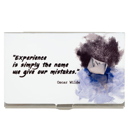 Oscar Wilde Card Holder
