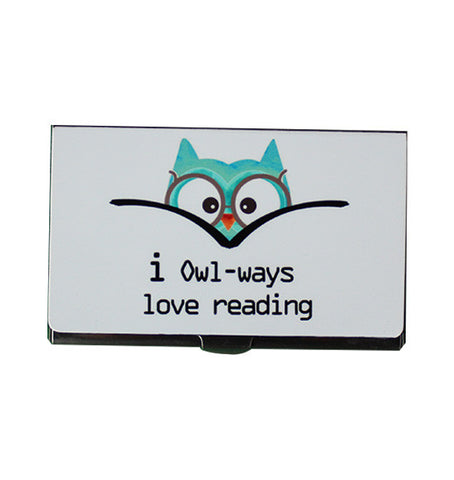 I owl-ways love card holder