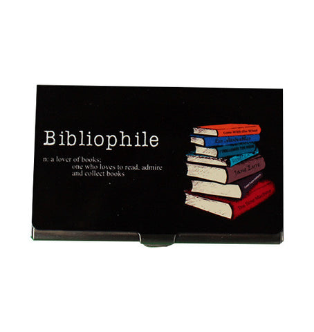 Bibliophile card holder