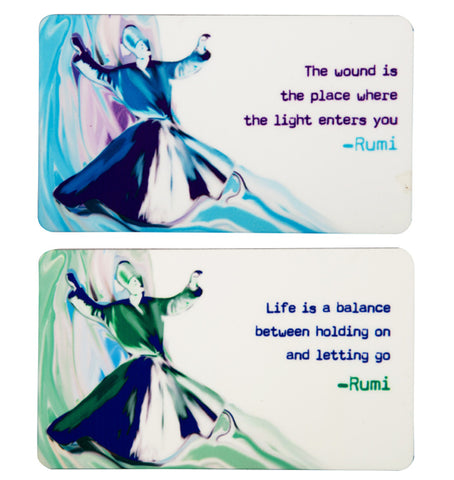 Rumi Fridge Magnets combo pack (Set of 2)