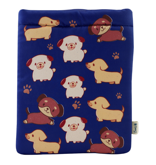 Cute Dogs Book Sleeve