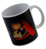 I like sleeping but I like reading more Mug