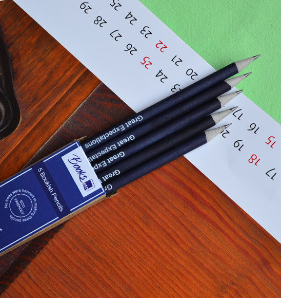 Pencil combo set -To be or not to be  & Great expectations