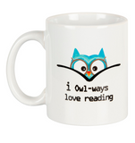 I owl-ways love reading Mug