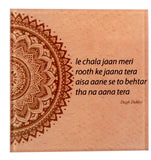Dagh Dehlvi coaster set (Pack of 2)