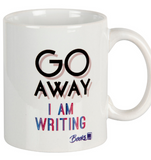 Go away, I am writing  Mug