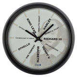 Shakespeare Wall Clock