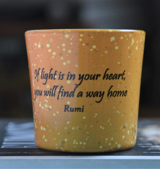 Rumi Candle Votives Set (with Tea Lights)