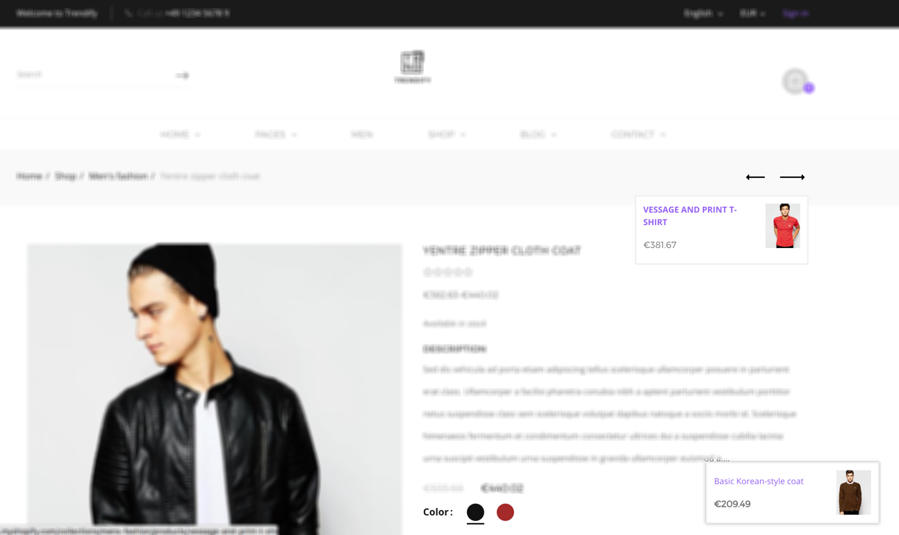 Trendify - Boost sale, Drag Drop, Clean Fashion Shopify Theme