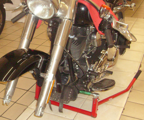 desmontar suspension harley-davidson