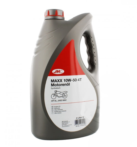 Aceite Motor 4T Sintetico Premium Motorcycle 10W50 4L Motor Oil Synthetic