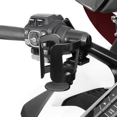 SHOW CHROME BEVERAGE HANDLEBAR MOUNT BEVERAGE HOLDER BK GL1800