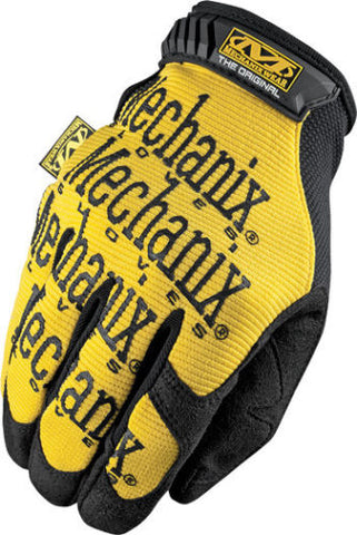 Guantes Mechanix the Original Yellow Gloves