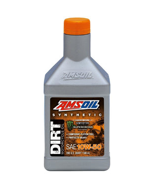 Aceite Sintetico Motocross Offroad Amsoil 10W-50 Synthetic Dirt Bike Oil DB50QT
