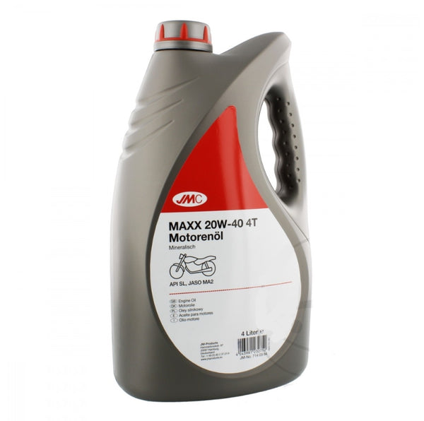 Aceite Motor 4T Mineral 20W40 4L Motor Oil Mineral